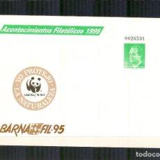 Sellos - SEP 27 ENTERO POSTAL ACONTECIMIENTOS FILATELICOS BARNAFIL 1995 BARCELONA ADENA - 118823719