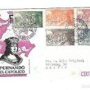 Sellos: SOBRE PRIMER DIA. FERNANDO EL CATOLICO. CENTENARIO DE SU NACIMIENTO. 1952. VER. Lote 122393107