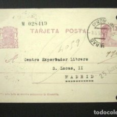 Sellos: ENTERO POSTAL PRIVADO. VIUDA DE FRANCISCO CANET, FIGUERES. II REPÚBLICA, 1936. PRIVATIZADO. Lote 126243107