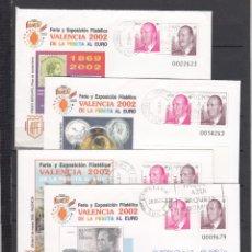 Sellos: ESPAÑA S.E.P. .75 JUEGO DE 4 CIRCULADO, DE LA PESETA AL EURO, REMITE EDIFIL. Lote 131288471