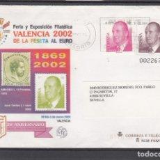 Sellos: ESPAÑA S.E.P. .75 CIRCULADO, MARCA SEGURIDAD AYUNT. SEVILLA, DE LA PESETA AL EURO, REMITE EDIFIL. Lote 131288727