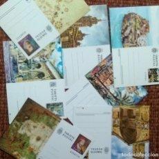 Stamps - ESPAÑA TARJETA ENTERO POSTAL - LOTE 7 TARJETAS DIFERENTES - 131433718