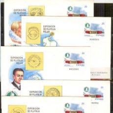 Sellos: SEP 49 ENTERO POSTAL EXPO.FILATELICA POLAR 1998 NUEVOS 5 SOBRES. Lote 233502810