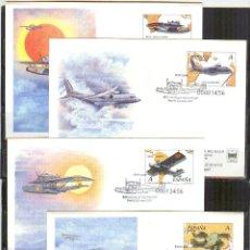 Stamps - SEP 69/72 ENTERO POSTAL FERIA SELLO 2001 AVIACION ESPAÑOLA MATASELLADOS FERIA - 135108662