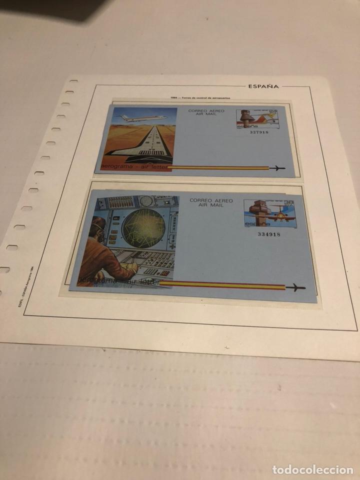 AEROGRAMAS 1984 EDIFIL 207 Y 208 (Sellos - España - Entero Postales)