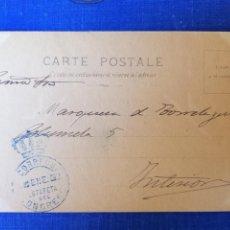 Sellos: CONGRESO DE LOS DIPUTADOS FRANQUICIA 1902 DOS POSTALES. Lote 143042006