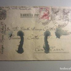 Sellos: TARJETA POSTAL MATASELLOS MADRID. Lote 146563150