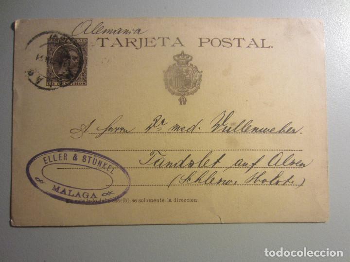 ENTERO POSTAL 27 MATASELLOS MALAGA (Sellos - España - Entero Postales)