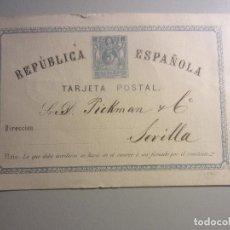 Sellos: ENTERO POSTAL 1 MATASELLOS BILBAO. Lote 146564502