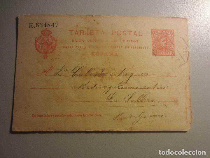 ENTERO POSTAL 42 (Sellos - España - Entero Postales)