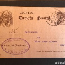 Sellos: ESPAÑA ENTERO POSTAL 1938/40 EDIFIL 86. Lote 147928258