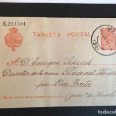 Sellos: ESPAÑA ENTERO POSTAL EDIFIL 49. Lote 147930214