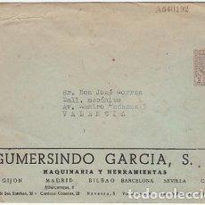 Sellos: ESPAÑA ENTEROS POSTALES 1940 EDIFIL CERVANTES EMISIÓN PRIVADA. Lote 151399042