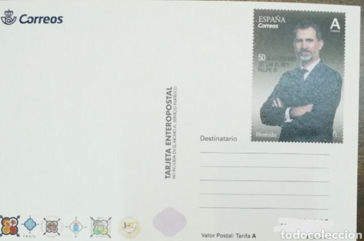 Sellos: España tarjeta entero postal 131 año 2018 fesofi - Foto 2 - 175250662