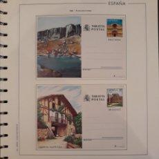 Sellos: CONJUNTO ENTERO POSTAL SORIA Y AVILA 1989. Lote 151856098