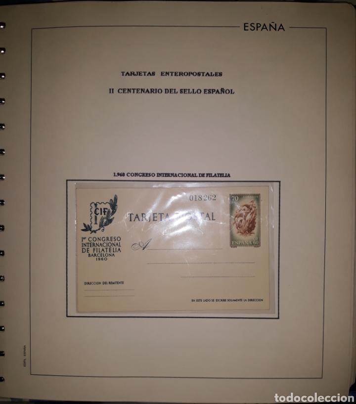 ALBUM TARGETAS ENTERO POSTAL 1960/2003 (Sellos - España - Entero Postales)