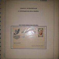 Sellos: ALBUM TARGETAS ENTERO POSTAL 1960/2003. Lote 151870633