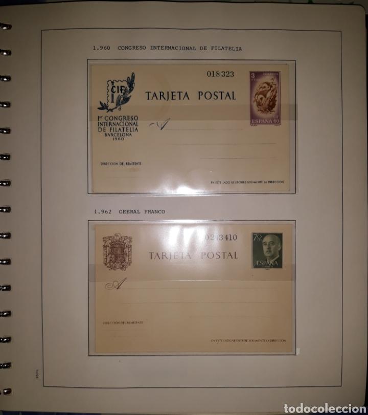 Sellos: Album targetas entero postal 1960/2003 - Foto 2 - 151870633