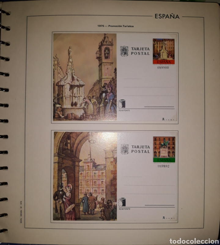 Sellos: Album targetas entero postal 1960/2003 - Foto 7 - 151870633