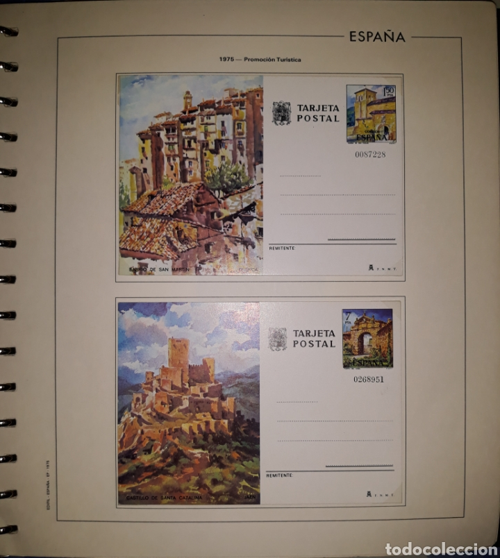 Sellos: Album targetas entero postal 1960/2003 - Foto 9 - 151870633