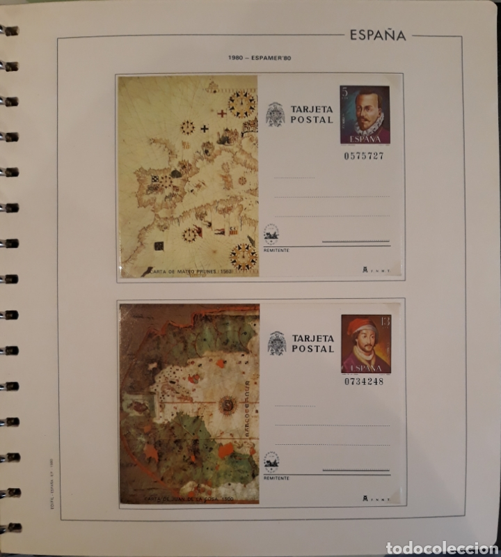 Sellos: Album targetas entero postal 1960/2003 - Foto 14 - 151870633