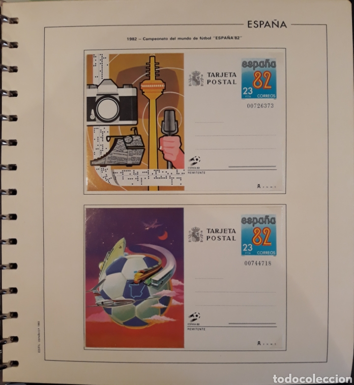 Sellos: Album targetas entero postal 1960/2003 - Foto 19 - 151870633
