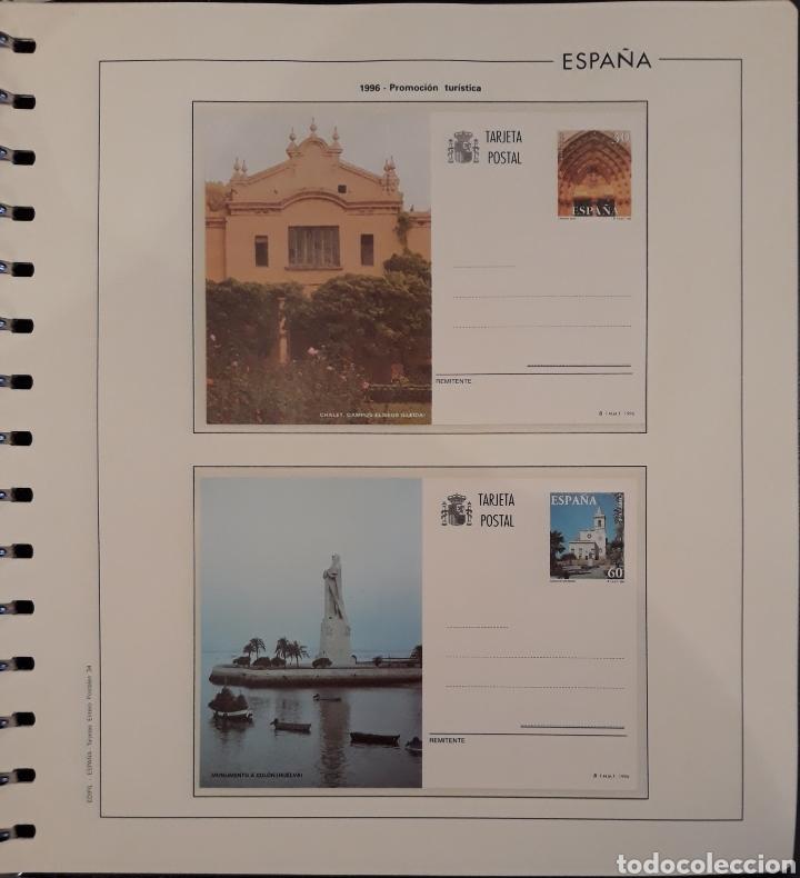 Sellos: Album targetas entero postal 1960/2003 - Foto 35 - 151870633