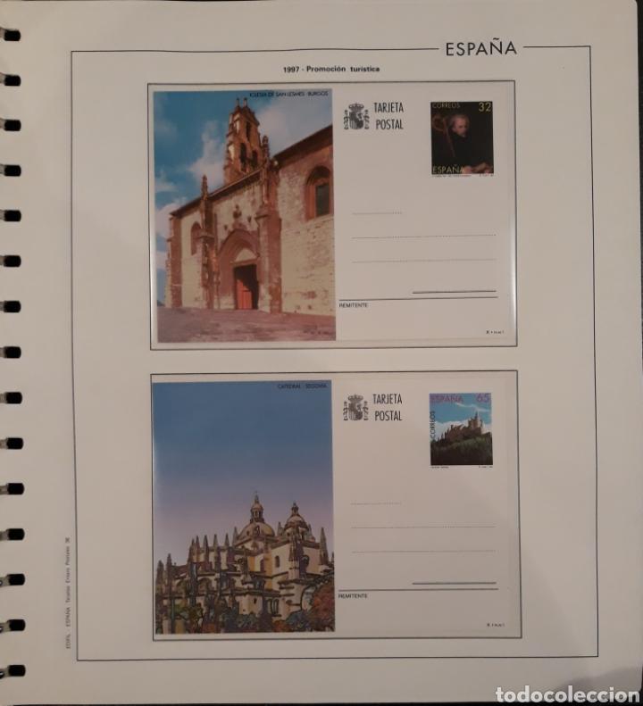 Sellos: Album targetas entero postal 1960/2003 - Foto 37 - 151870633
