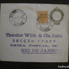 Sellos: ENTERO POSTAL-RIO DE JANEIRO BRASIL-VER FOTOS-(57.198). Lote 152213390