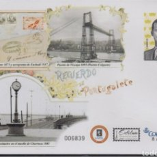 Stamps - ESPAÑA SPAIN EXFILNA 2017 PORTUGALETE EDIFIL 148 SOBRE ENTERO POSTAL SEP - 160583178