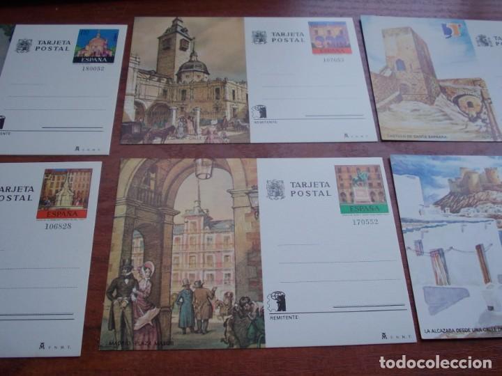 Stamps: Lote seis Tarjeta Postal - Foto 3 - 160625366