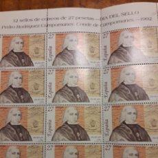 Sellos: SELLO PEDRO RODRIGUEZ CAMPOMANES. Lote 161297126