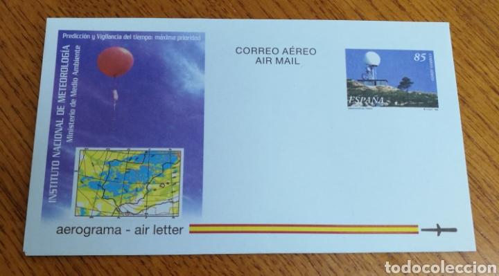 ESPAÑA : AEROGRAMA N°224,NUEVO (Sellos - España - Entero Postales)