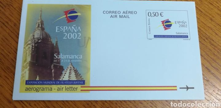 ESPAÑA: AEROGRAMA N°225,NUEVO (Sellos - España - Entero Postales)