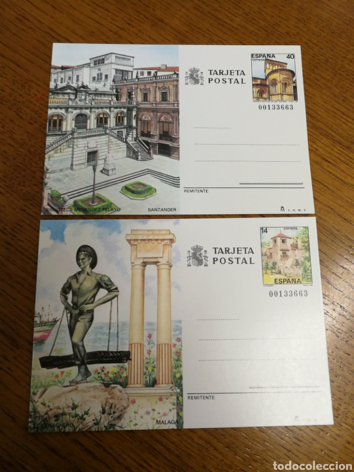 ESPAÑA: ENTEROS POSTALES N°143/44,NUEVOS (Sellos - España - Entero Postales)