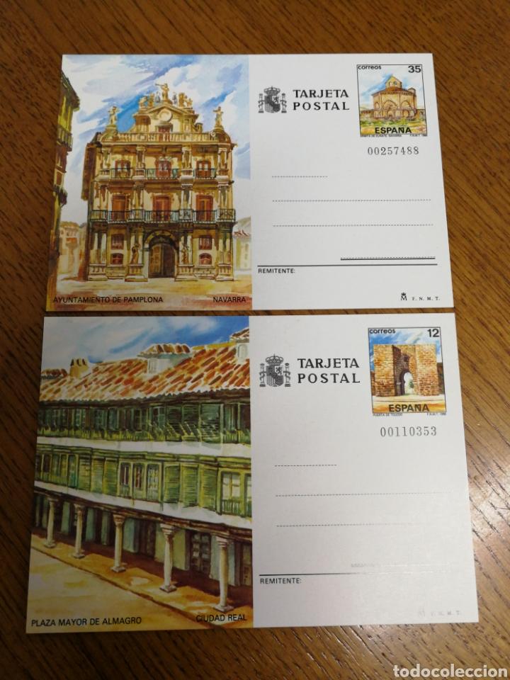 ESPAÑA: ENTEROS POSTALES N°141/42,NUEVOS (Sellos - España - Entero Postales)