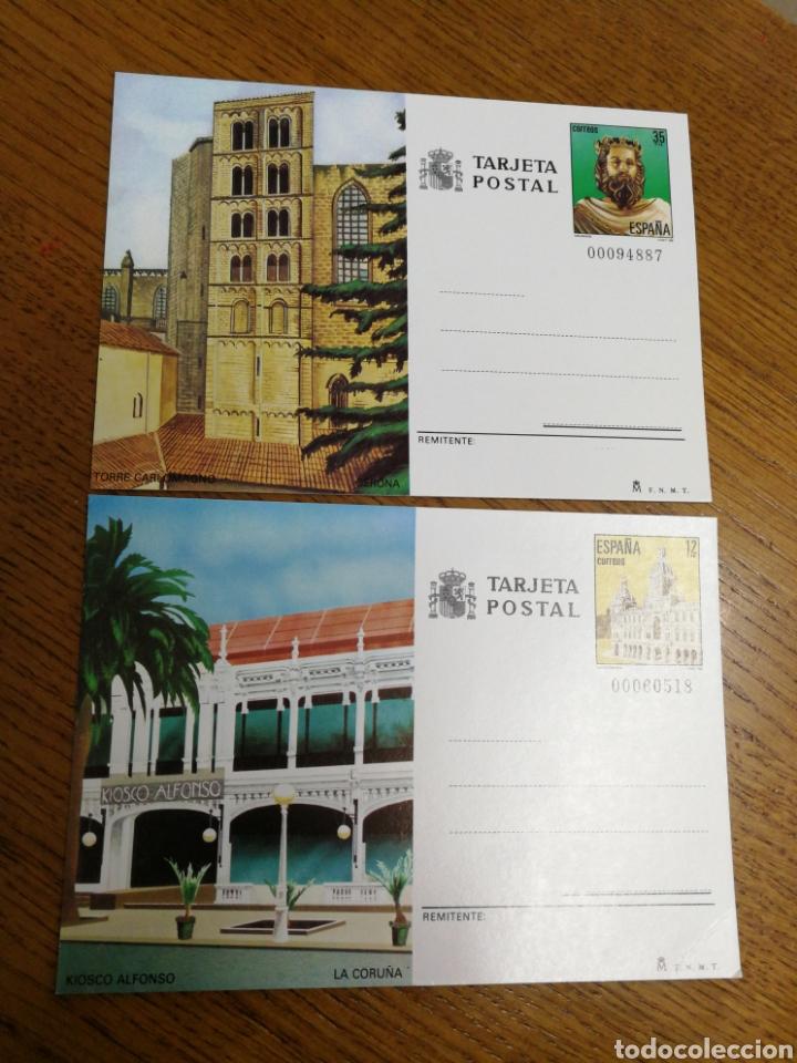 ESPAÑA: ENTEROS POSTALES N°139/40,NUEVOS (Sellos - España - Entero Postales)
