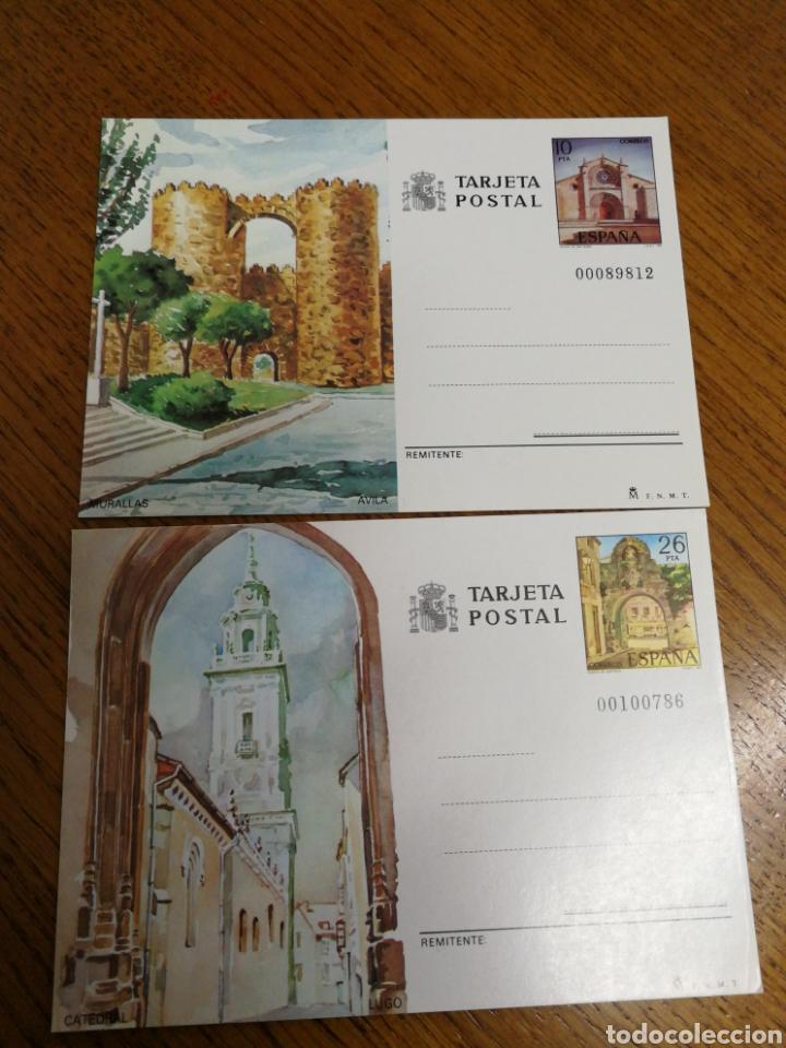 ESPAÑA : ENTEROS POSTALES N°133/34,NUEVOS (Sellos - España - Entero Postales)