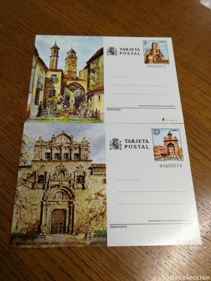 ESPAÑA: ENTEROS POSTALES N°127/28,NUEVOS (Sellos - España - Entero Postales)