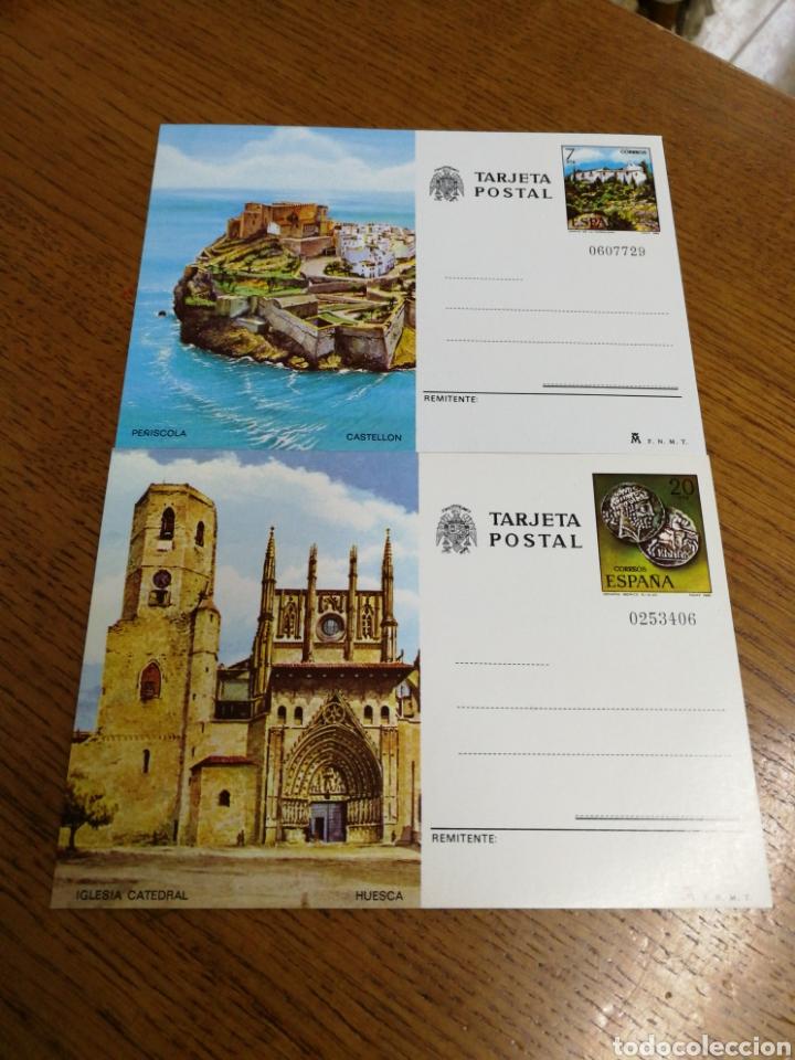 ESPAÑA: ENTEROS POSTALES N°125/26, NUEVOS. (Sellos - España - Entero Postales)