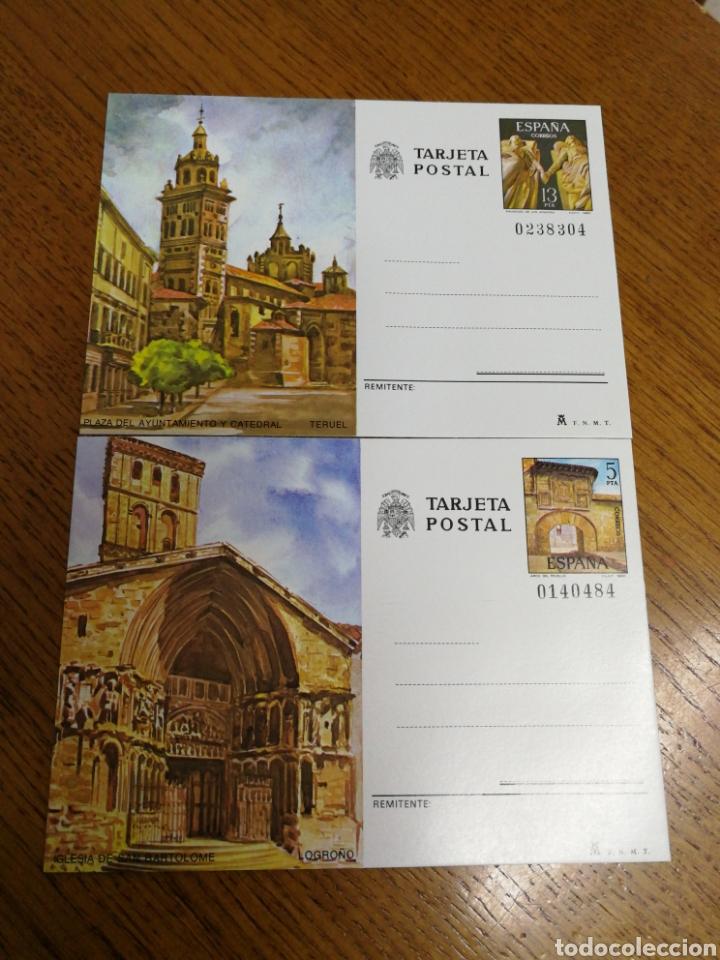 ESPAÑA: ENTEROS POSTALES N°123/4,NUEVOS (Sellos - España - Entero Postales)