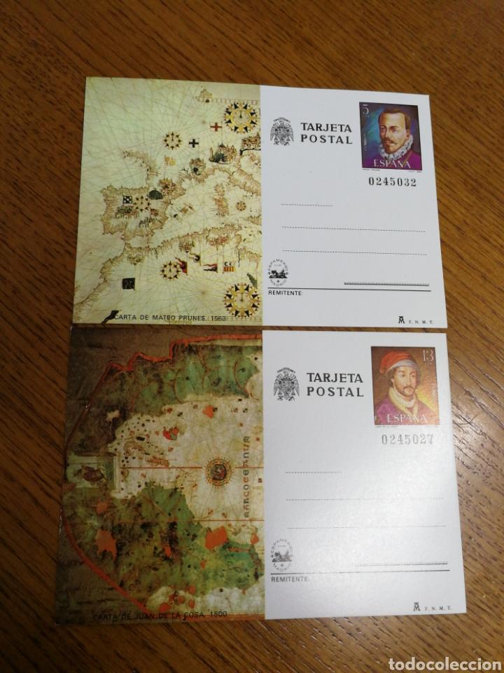 ESPAÑA: ENTEROS POSTALES N°121/22,NUEVOS (Sellos - España - Entero Postales)
