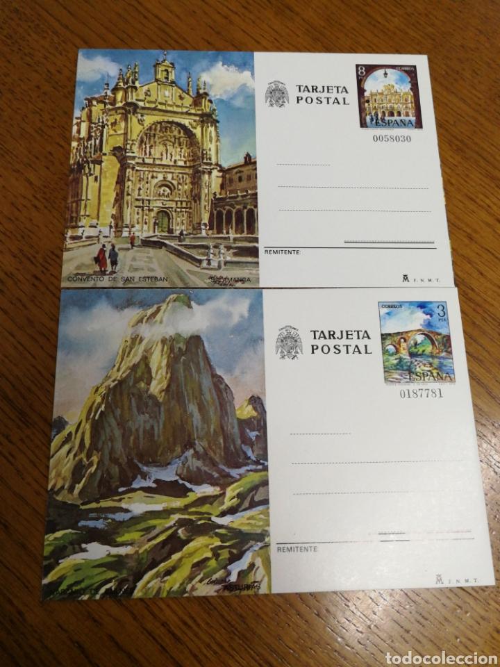 ESPAÑA : ENTEROS POSTALES N°119/20 NUEVOS (Sellos - España - Entero Postales)
