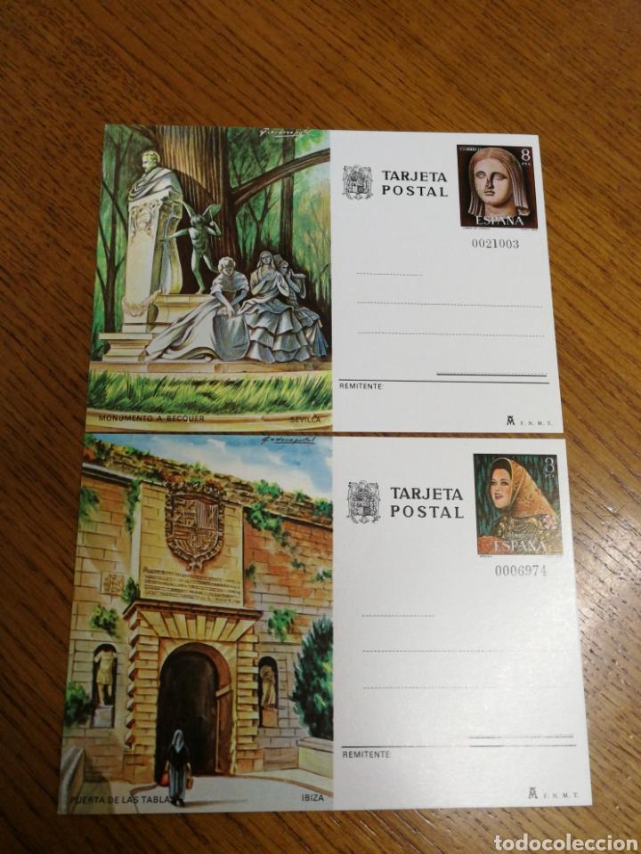 ESPAÑA : ENTEROS POSTALES N°117/18,NUEVOS (Sellos - España - Entero Postales)