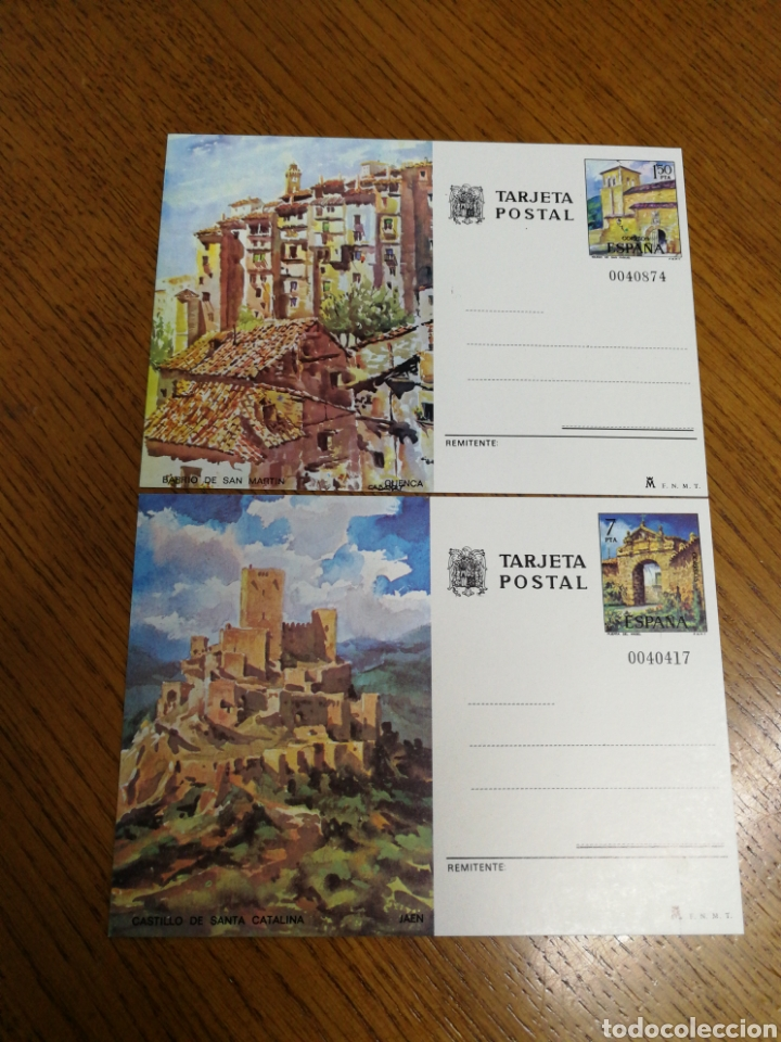 ESPAÑA : ENTEROS POSTALES N°111/12,NUEVOS (Sellos - España - Entero Postales)