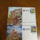 Sellos: ESPAÑA : ENTEROS POSTALES N°111/12,NUEVOS. Lote 164734606