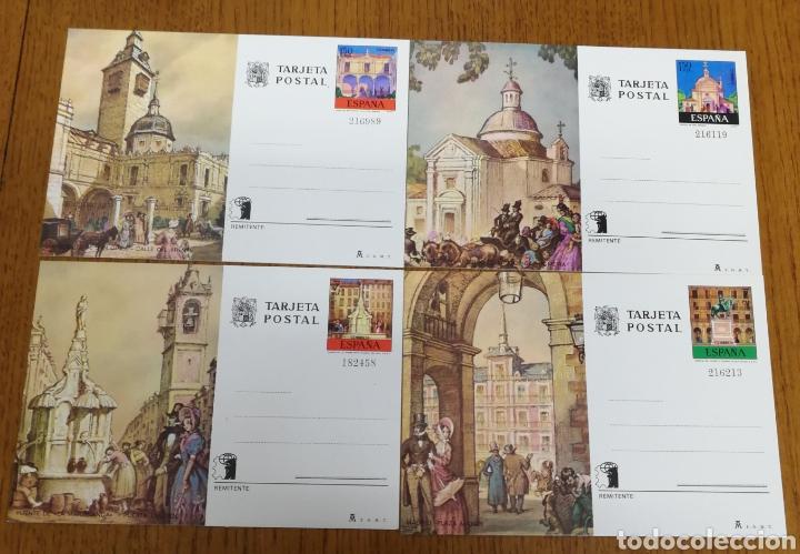 ESPAÑA: ENTEROS POSTALES N°107/10,NUEVOS. (Sellos - España - Entero Postales)