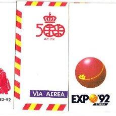 Sellos: 4 SOBRES ENTERO POSTALES DE 1987 NUMS. 6-7-8-9. Lote 164857474