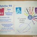 Sellos: ESPAÑA SOBRE ENTERO POSTAL ANUNCIADOR SOBREIMPRESIÓN APF FILATELIA 1993 ANGEL LAIZ 17A CIRCULADO. Lote 167584976