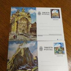 Stamps - ESPAÑA : ENTEROS POSTALES N°119/20 NUEVOS - 168063058